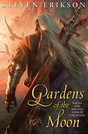 Items 139 140 Signed Subterranean Press Edition Of Gardens Of The Moon By Steven Erikson